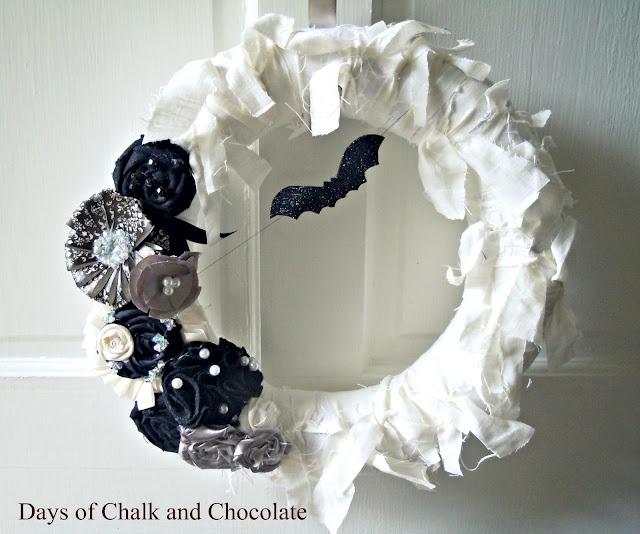 "Halloween ""Glam"" Wreath"