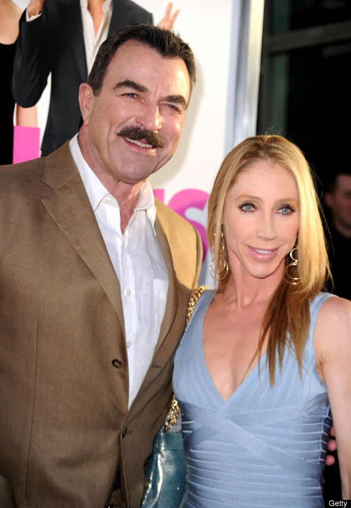 Tom Selleck couple