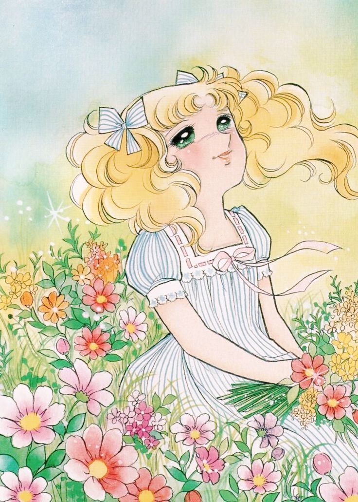 Candice White Andre by Yumiko Igarashi color sleeve ✤   キャンディキャンディ• concept…