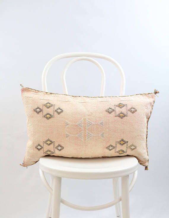 13 x 24 Pink Cactus Silk Pillow Case