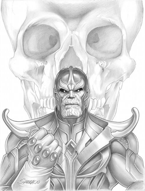 Thanos by Mark Sparacio *