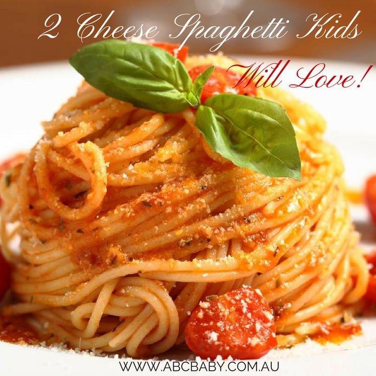 2 Cheese Spaghetti Kids Will Love!