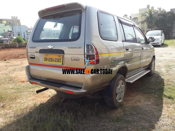 Salemycar Today Used Chevrolet Tavera For Sale In Bhubaneswar At