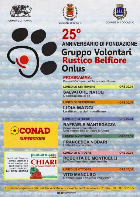 25° Anniversario di Fondazione Gruppo Volontari a Rovato http://www.panesalamina.com/2013/16899-25-anniversario-fondazione-gruppo-volontari-a-rovato.html