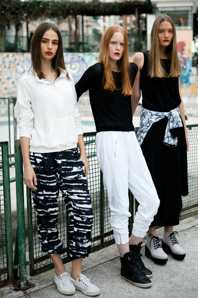 Girls for Bricks Magazine by Takeuchis - Models: /Natália Mallmann/Victória Schons/Jaqueline Datsch