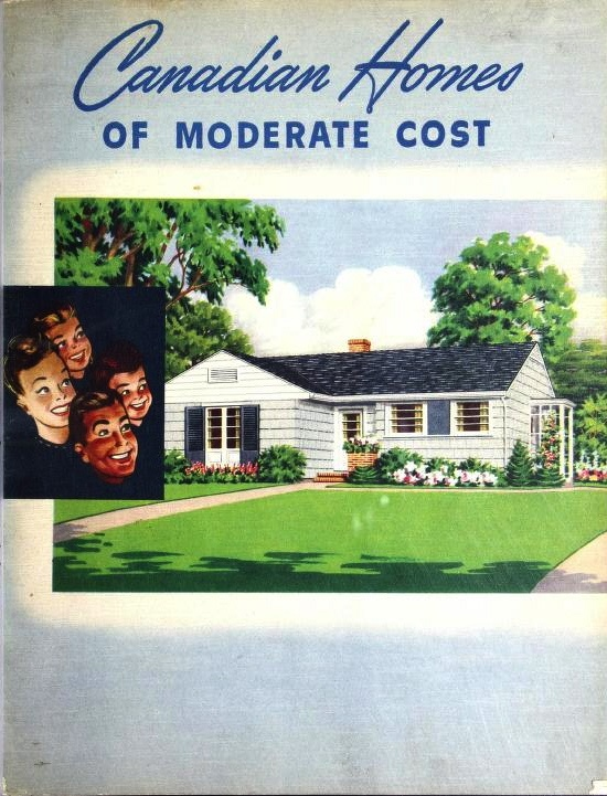 Canadian homes of moderate cost national plan service for Cost to build a house in mn