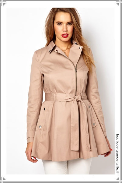 7 Best Trench Femme Grande Taille Mode Images On Pinterest