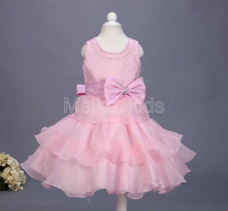 Розничная 2016 лето нового прибытия принцессы платье девушки, Свадьба День Рождения девочки платья, Конфеты принцесса пачки элегантный 3-8 лет 816