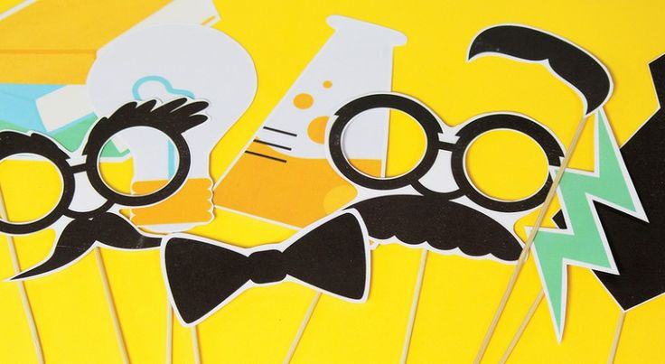 Science Photo Booth Props . Birthday Party . PBS Parents | PBS