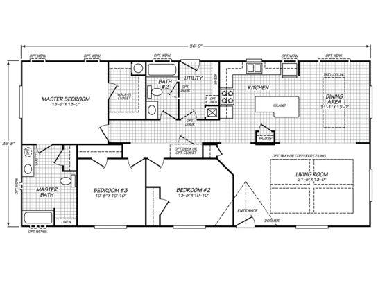 30 best floor plans images – Waverly Mobile Homes Floor Plans