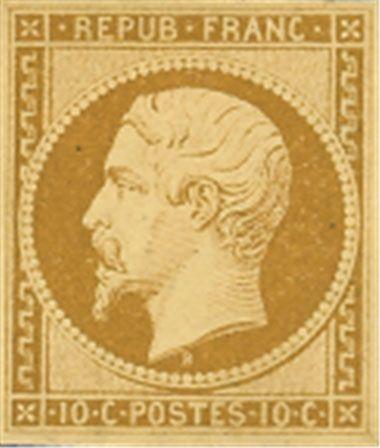 timbre français de 10 centimes