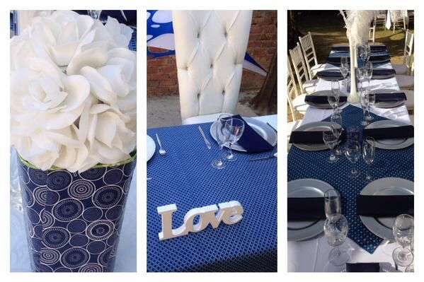 shweshwe traditional wedding decor