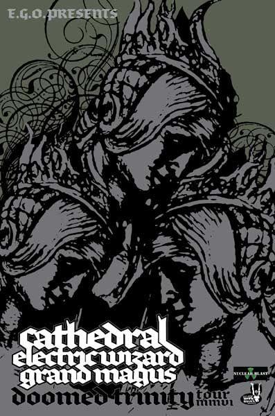 Cathedral // Electric Wizard // Grand Magus