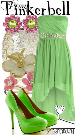 Tinkerbell outfit   Disneybound