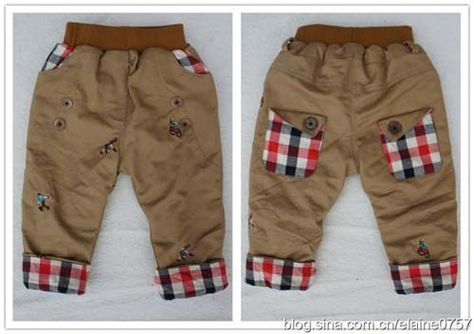 Padrão para calças para bebe05