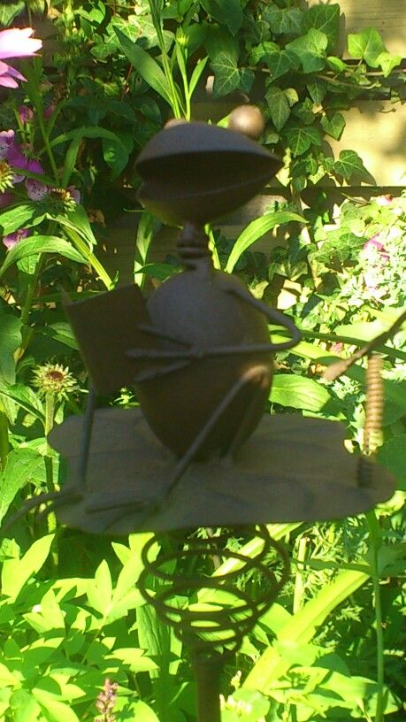 Et af mange dyr i vores have