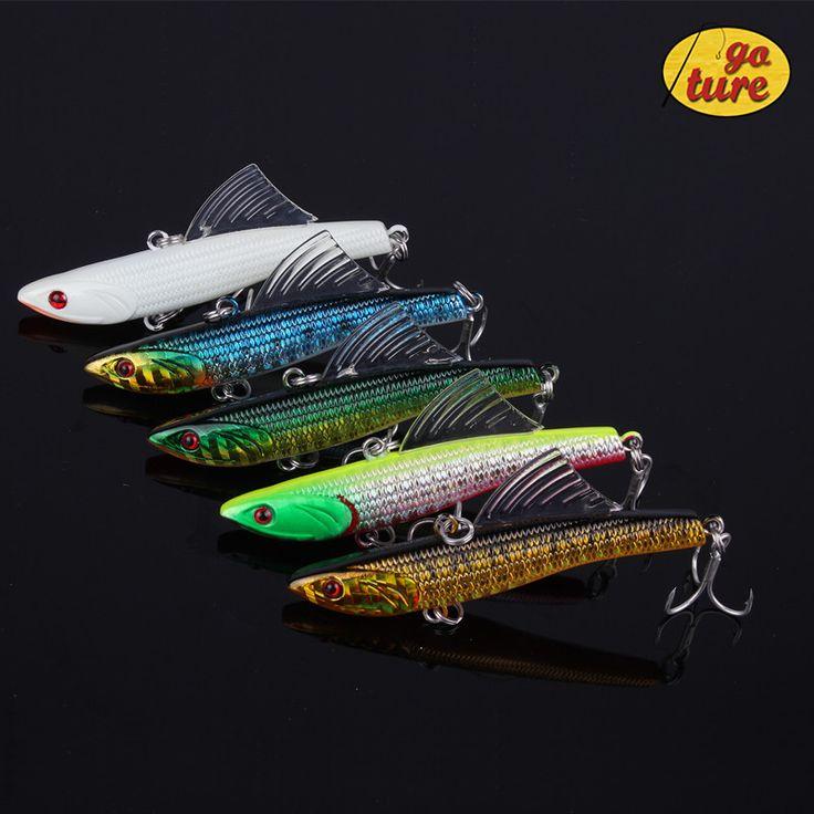 5pcs luminous hard bait fishing lure VIB sea fishing tackle fishing kit