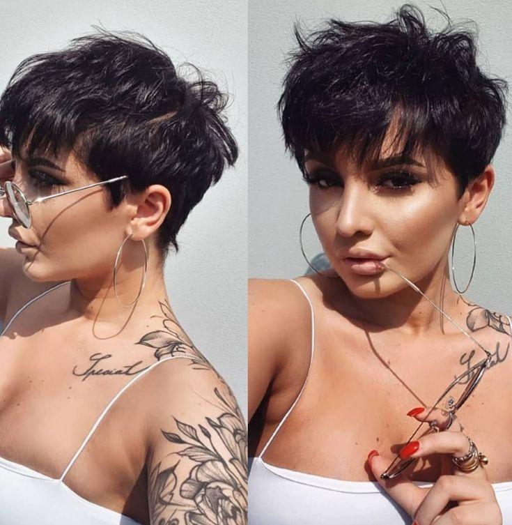 14+ Pixie thick hair pixie short hair styles trends