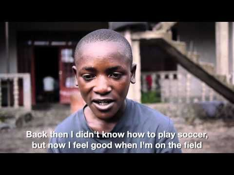 Center for homeless children in the Congo