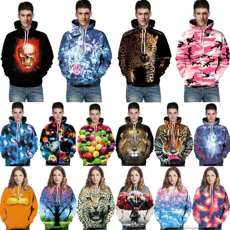 3D Graphic Print Mens Womens Hooded Sweatshirt Xmas Pullover Tops Jumpers Hoodie #Unbranded #HoodieSweatshirtJacketPulloverTopsJumpers