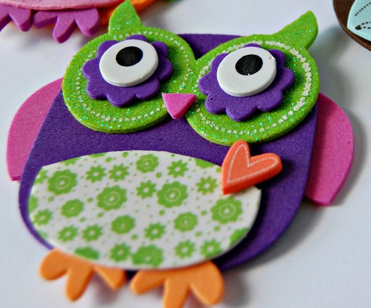Foam Owl Craft Kit