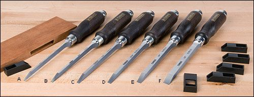 Narex® Mortise Chisels - Woodworking