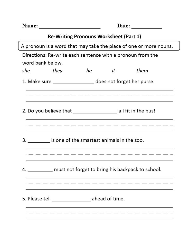 Science 3rd Grade Worksheets  Best Pronouns Images On Pinterest  Personal Pronoun Pronoun  Multiplication And Division Of Rational Expressions Worksheets Pdf with Integer Worksheets This Regular Pronouns Worksheet Directs The Student To Rewrite Each  Sentence With A Pronoun From The Word Bank Worksheet Works Answers Word