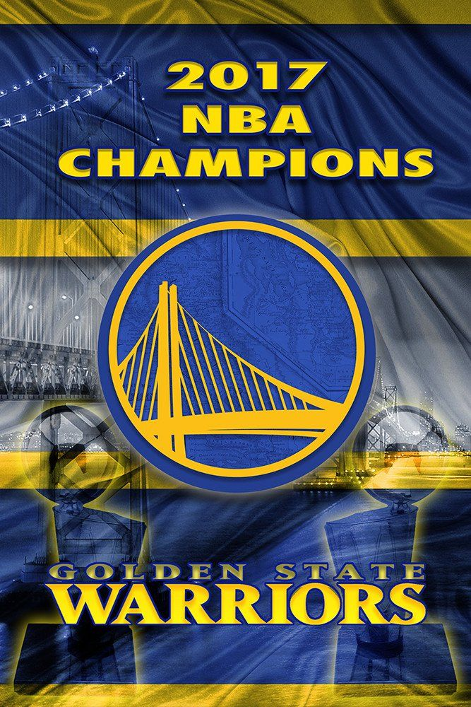 Golden State Warriors 2017 Championship Poster, GSW, Warriors Print, W                      – McQDesign