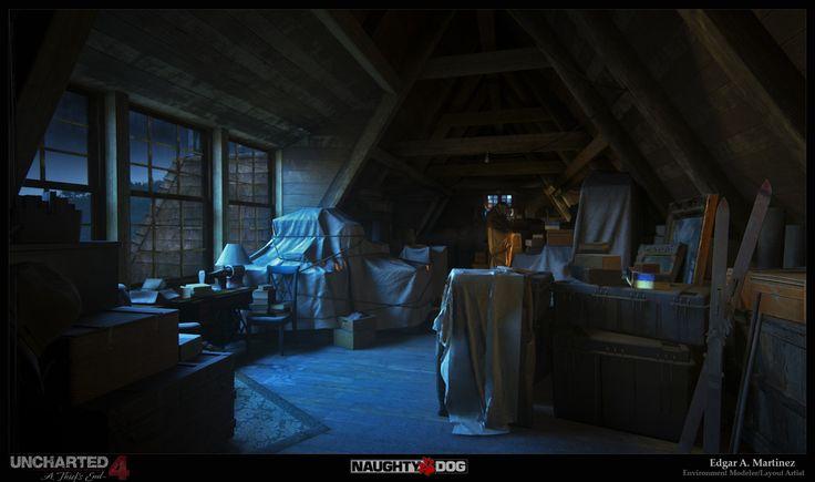 attic_01, Edgar Martinez on ArtStation at https://www.artstation.com/artwork/1XyA8