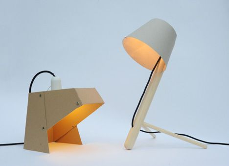Nice Mylamp By Madebywho   Ecologically And Economically Friendly. A Foldable  Cardboard Desktop Lamp That Can Work In Practically Any Environment. Pictures