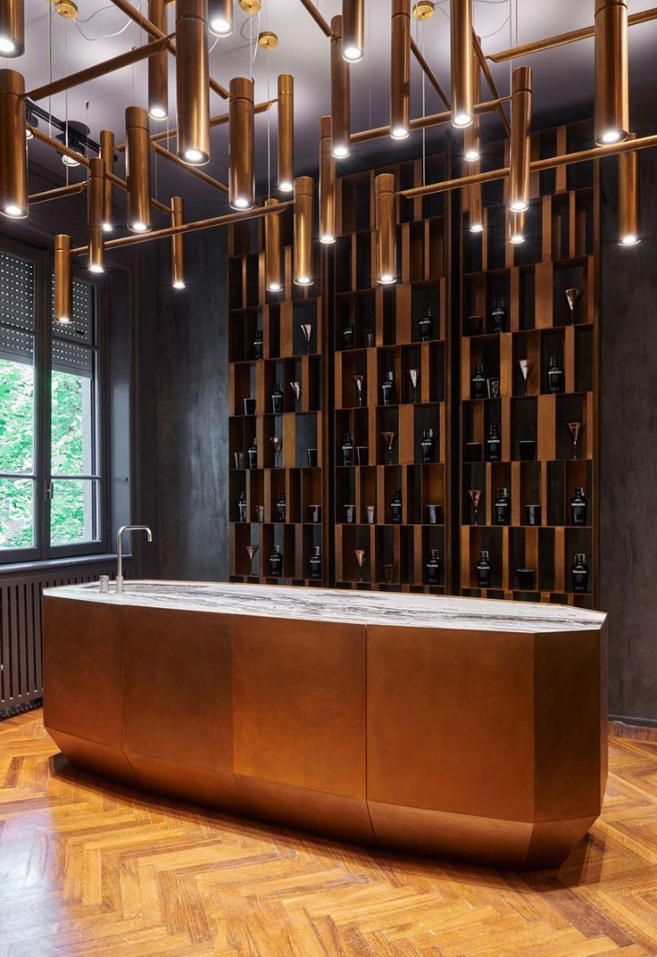 Italian Craftsmanship at its finest with these brilliant manipulations of stone, leather and metal. HENGE is the company that imagines these applications