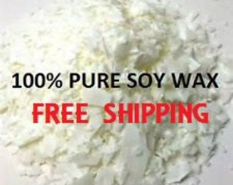 Soy Wax - AAK Golden Brands 415 Soy Wax - FREE SHIPPING - 100% Soy Wax Flakes, No Additives - Make Your Own Candles, Cosmetics