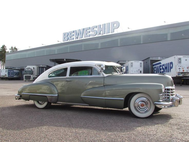 Beweship recently shipped this vintage '47 Cadillac Series 62 Club Coupe to New Zealand. This sleek coupe (as seen in the photos) was one of the Cadillac's most popular post-war models.  https://www.facebook.com/BeweshipFinland/ www.beweship.com https://www.linkedin.com/company/112163/