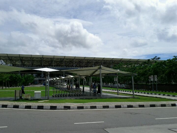 Rajiv Gandhi International Airport (HYD) in Hyderabad, Andhra Pradesh