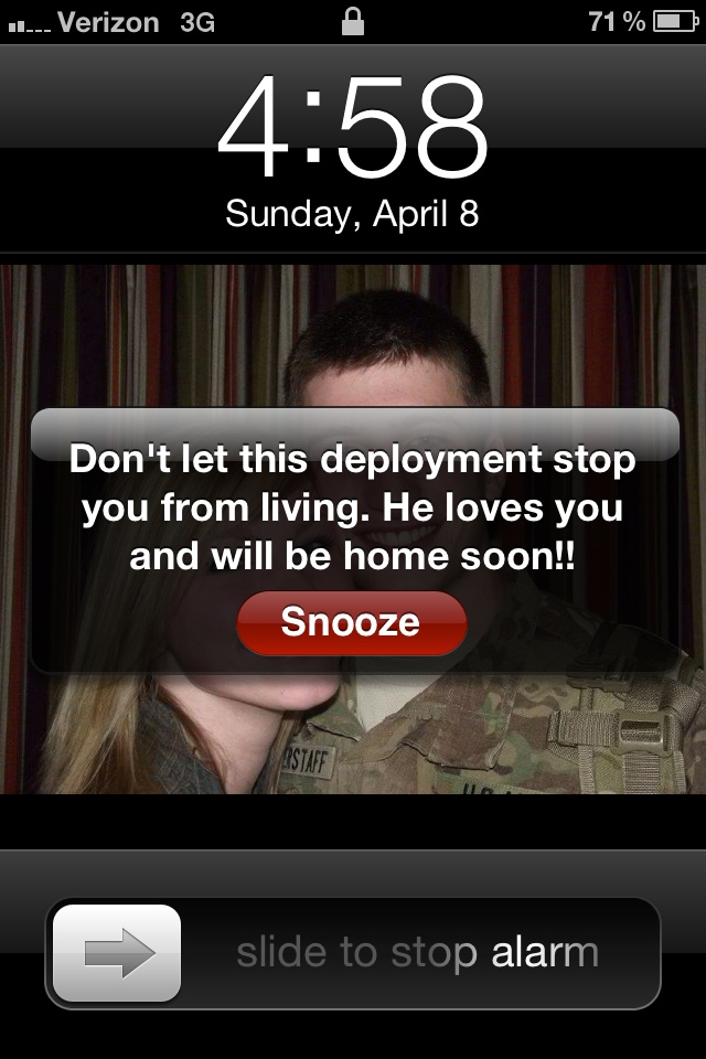 gives me inspiration to keep my head up and keep moving every morning:)