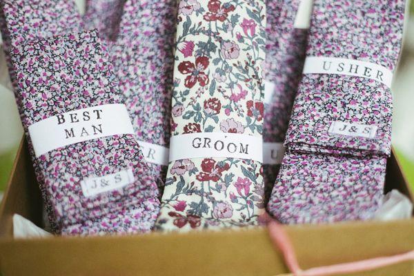 Wedding Liberty Print Ties Groom http://www.mikeandtom.co.uk/