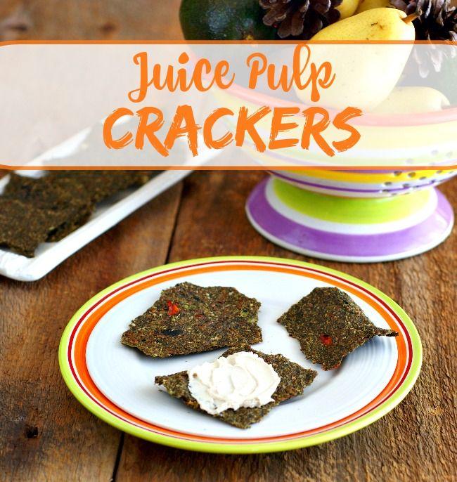 Juice Pulp Crackers No Dehydrator Required Ricki Heller Juice Pulp Recipes Candida Recipes Pulp Recipe