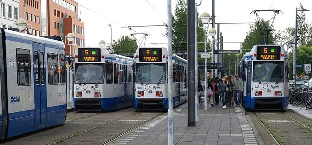 Tram Halt Binnenhof, Amstelveen by Nik Morris (van Leiden), via Flickr