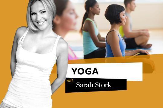 """Schauspielerin Sarah Stork (""""Sturm der Liebe"""", """"Unter uns"""") begeistert sich seit Jahren für Yoga und absolvierte 2012 sogar eine Yogalehrer-Ausbildung"""