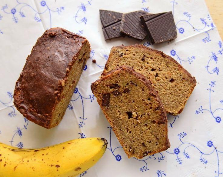 Madgudinden: Glutenfri banankage - uden æg