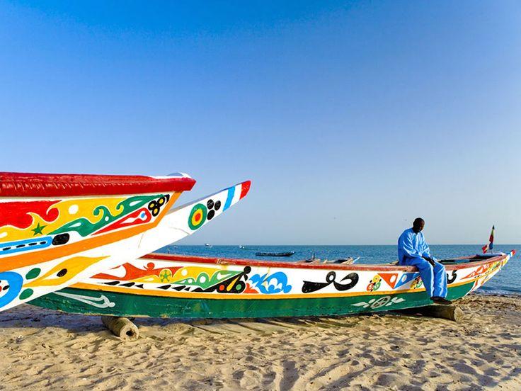 Pirogues du Sénégal