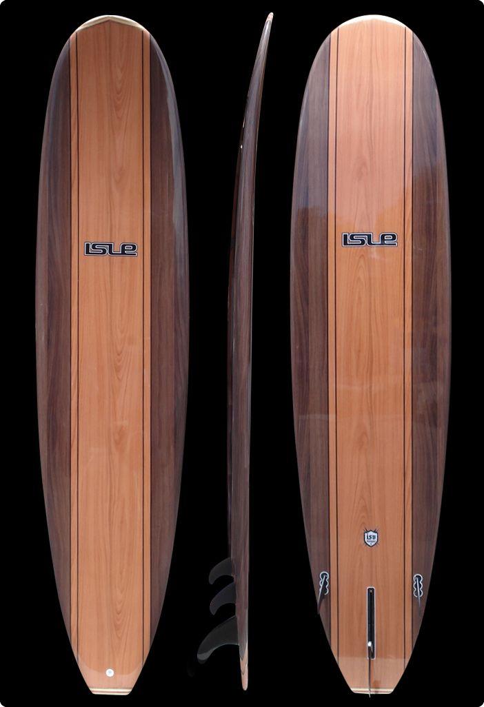 Classic Longboard Surfboard 8'6 isle mini longboard