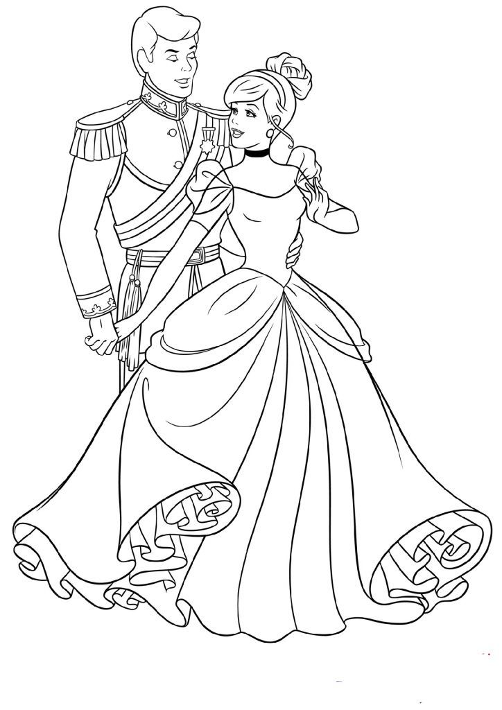 Beautiful Cinderella Coloring Pages Cinderella Coloring Pages Disney Princess Coloring Pages Princess Coloring Pages