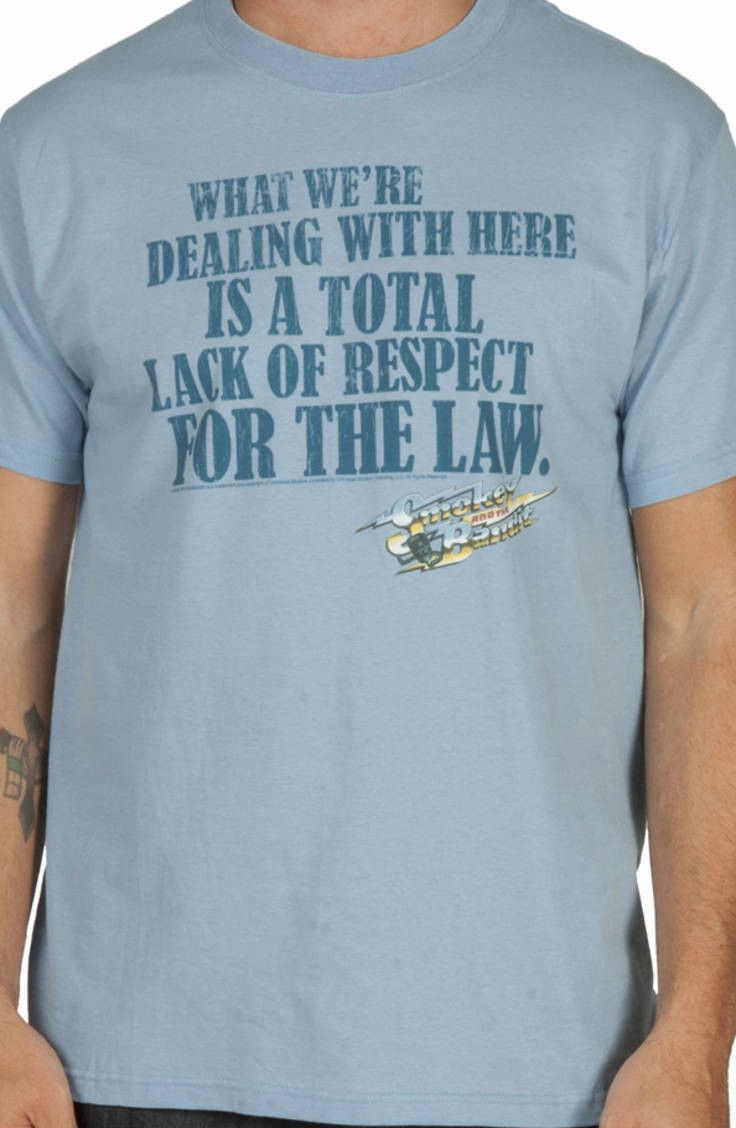 Ital tees bass culture and sound system clothing - Smokey The Bandit Respect Shirt Smokey The Bandit Mens