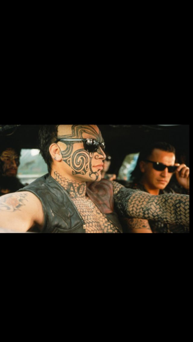 """From the movie """"Once Were Warriors"""". World famous in New Zealand."""