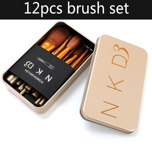 Beginne nu 12 pcs maquillage brosses pincel maquiagem maquillage ensembles maquillage brosse ensemble pulseira ensemble cosmétiques beauté essentials crayon