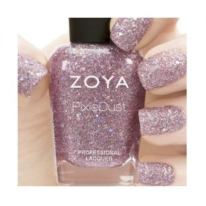 If you haven't already seen the new Zoya Magical Pixie Dust colours, here is Lux :)