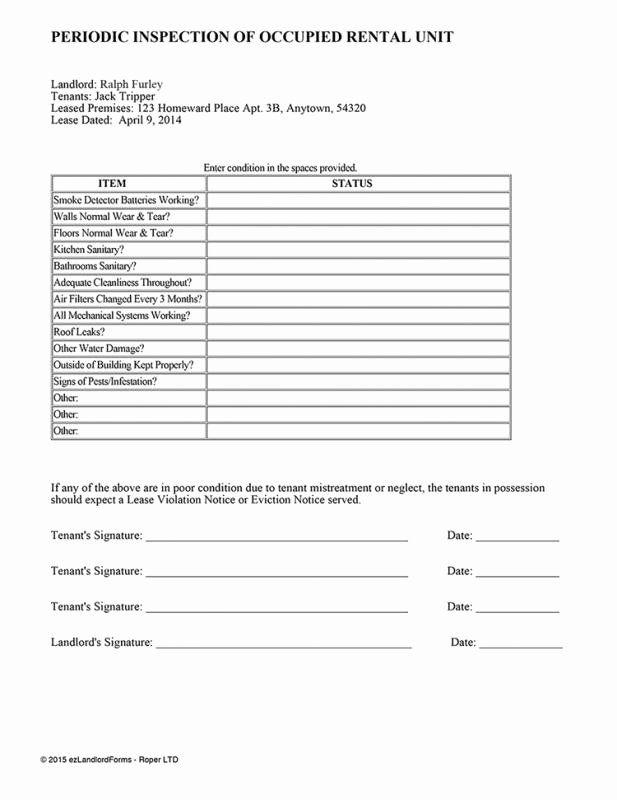 Apartment Maintenance Checklist Template Inspirational 18 Free Property Management Templates Pe Inspection Checklist Maintenance Checklist Checklist Template