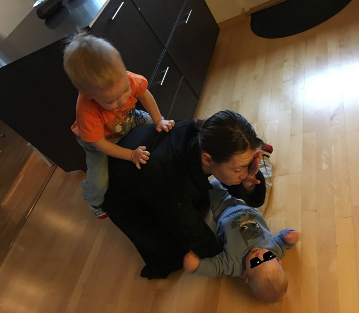 Borta från barnen på mammagåva