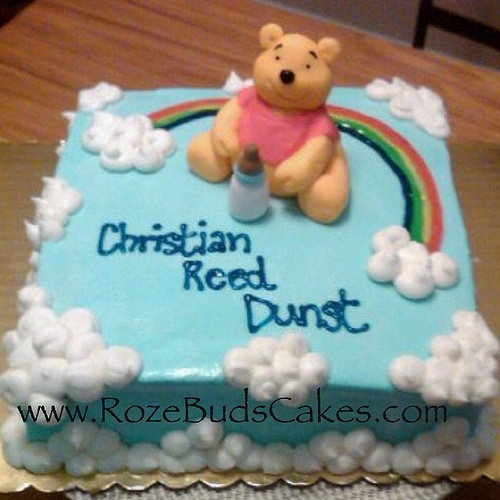 107 Best Winnie The Pooh Birthdaybaby Shower Cakes Images On